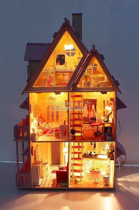 Подсветка для кукольного домика