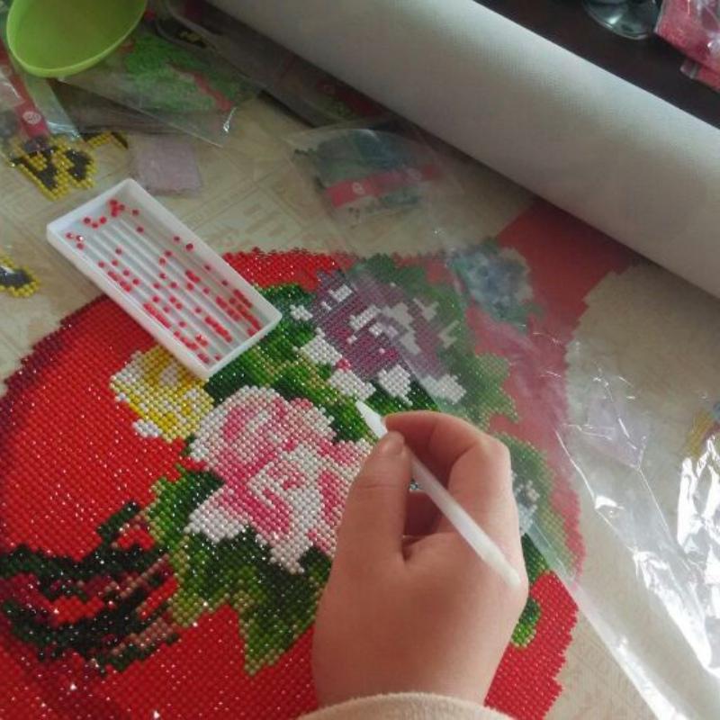 Как сделать алмазную вышивку самому в домашних условиях 40