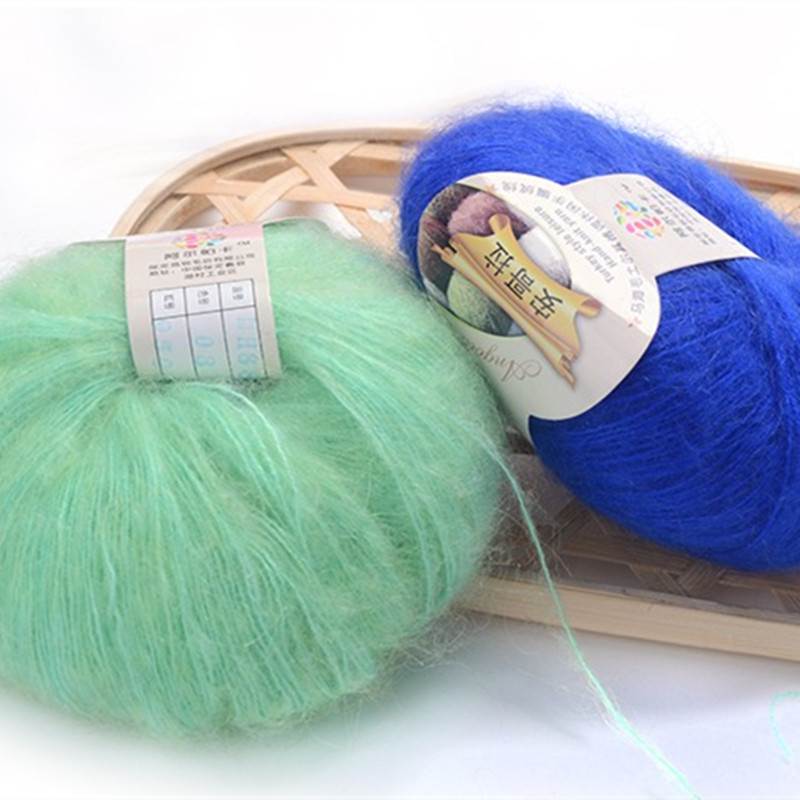 Мохер нитки для вязания 13