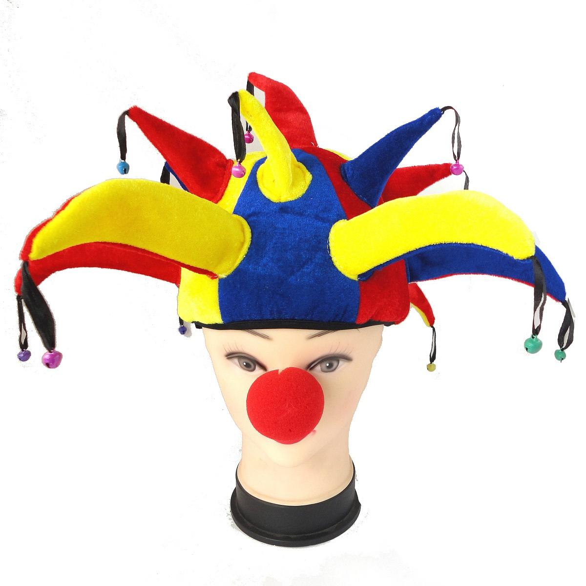Как сделать из бумаги нос клоуна