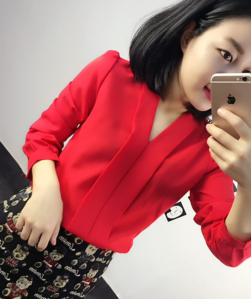 Красные блузки Самара