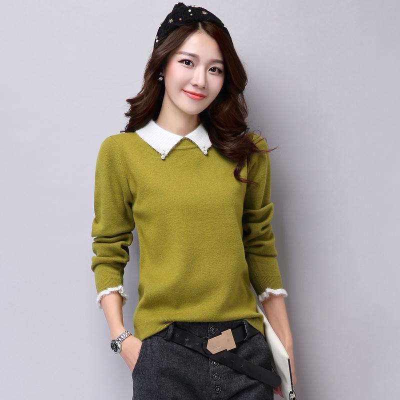 Толстый свитер женский