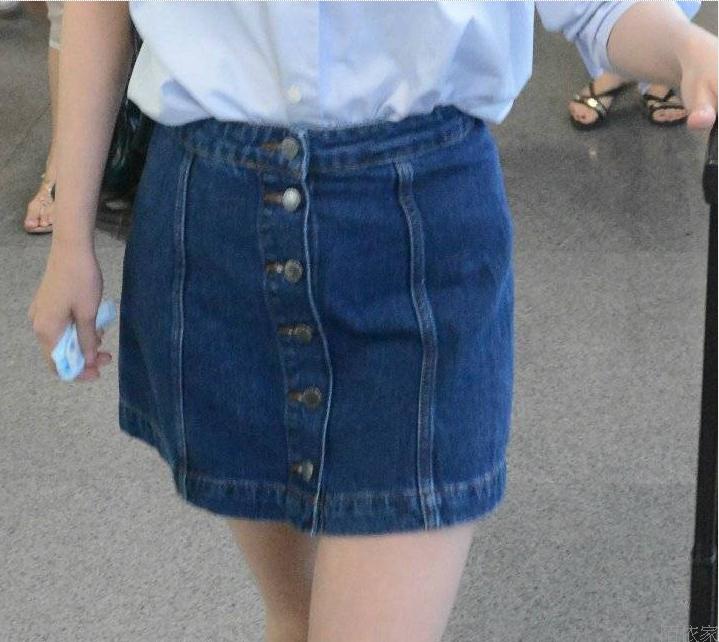Джинсовая юбка 2015 доставка