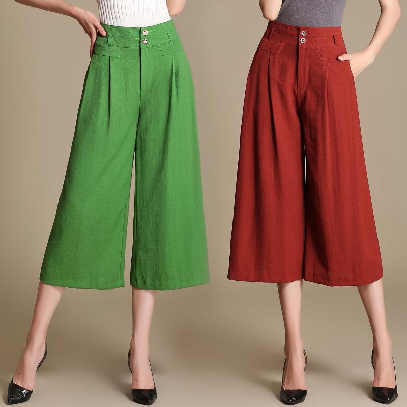 Широкие летние брюки с доставкой