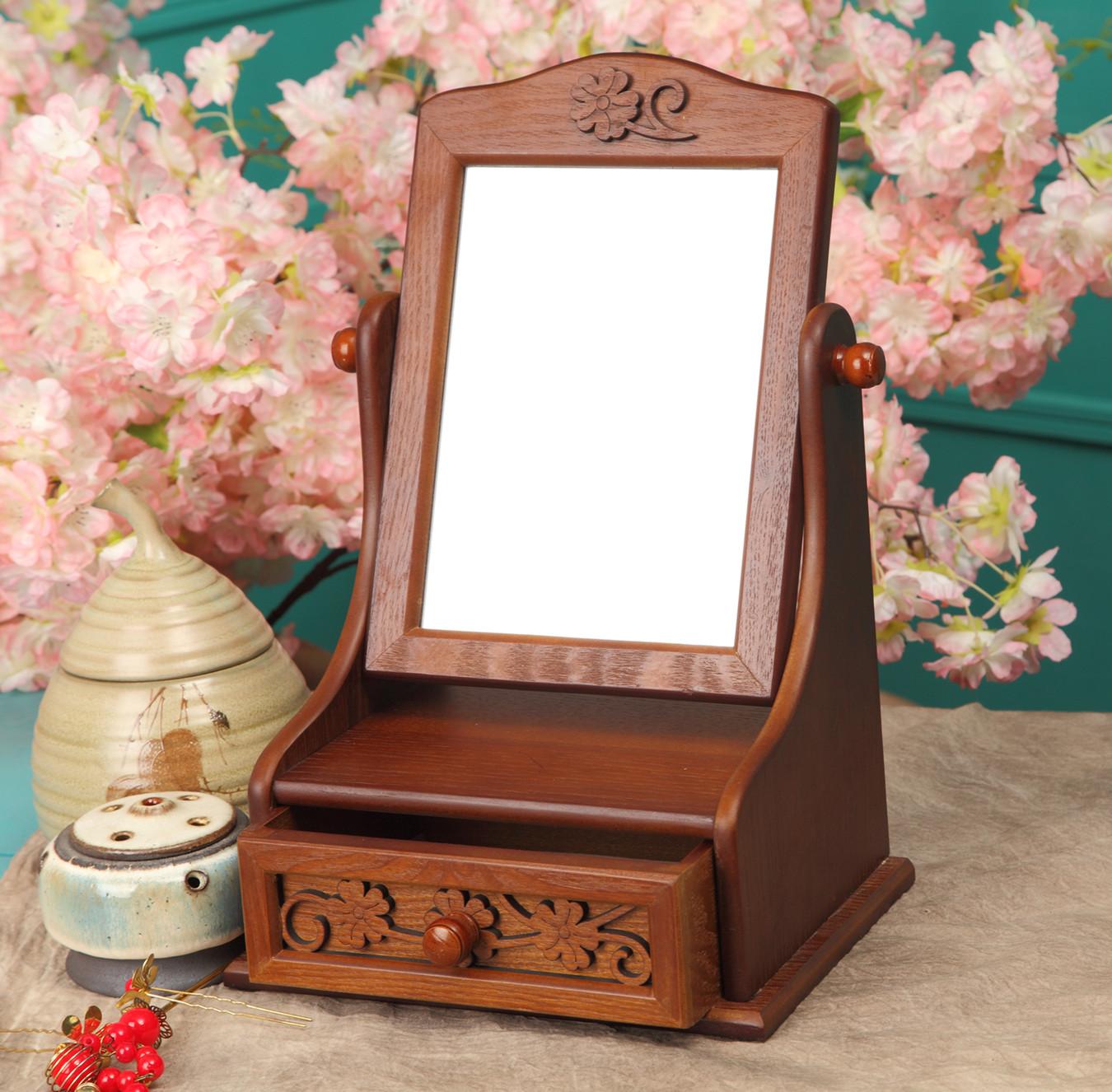 Настольное зеркало на подставке своими руками