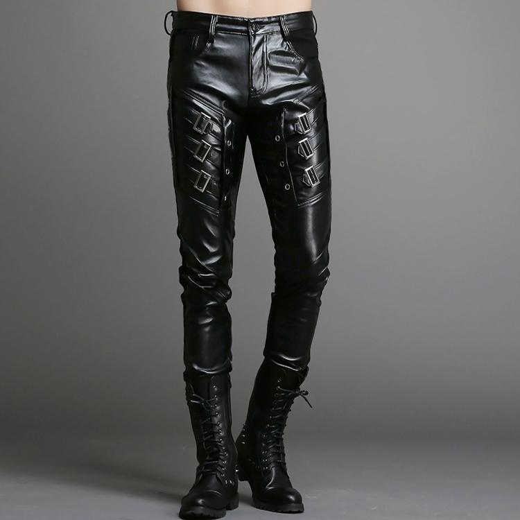 Мужские кожаные брюки купить доставка