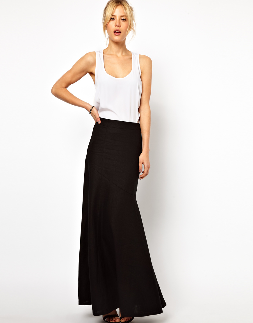 Черно белая юбка Самара